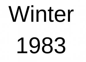Winter 1983