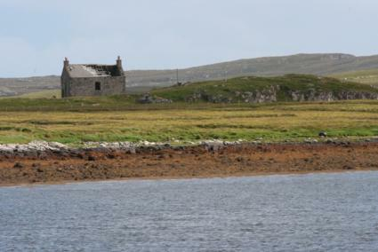 "Dilapidated house in Lewis - by ""Blues"""