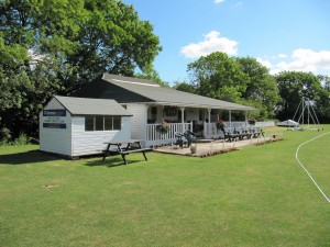The cricket pavilion at Owmby by Spital July 2010