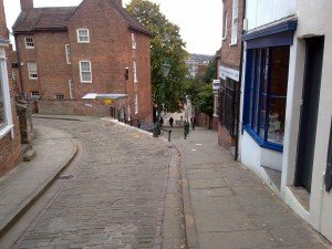 Lincoln Steep Hill in September