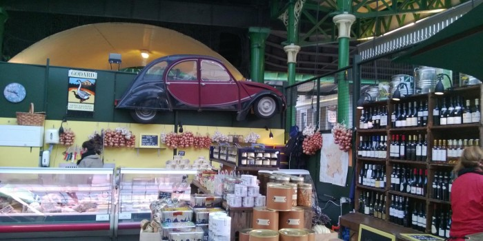 Citroen 2CV at Borough Market