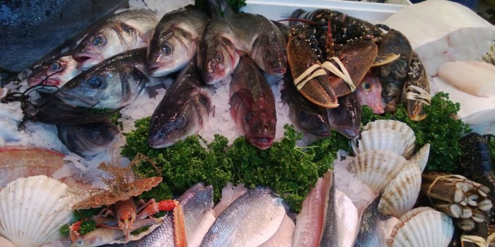 Fish at Borough Market