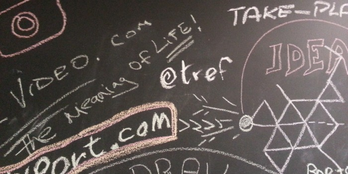 Blackboard at Google Campus