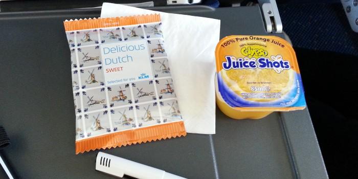 juice-shot by KLM