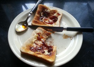A study in toast and marmalade