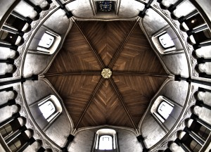The Ceiling at Temple Church.