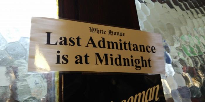 Last Admittance