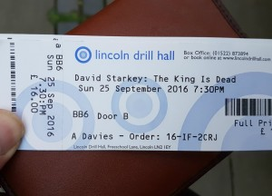 Lincoln Drill Hall for a