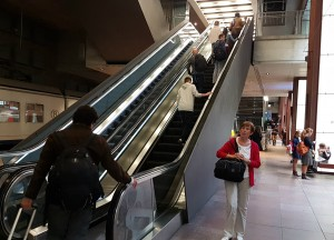 escalator by Tref