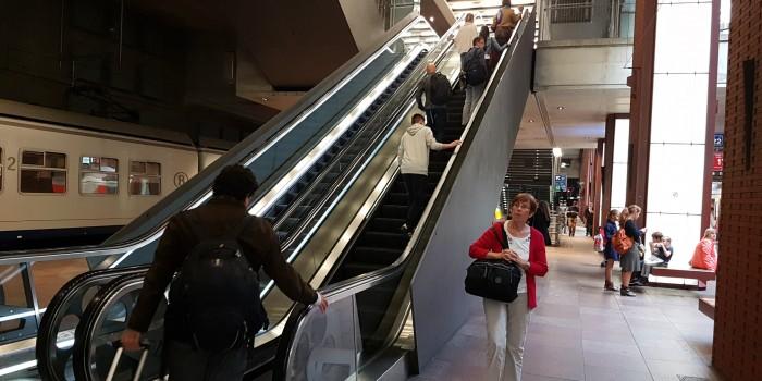 escalator by Tref