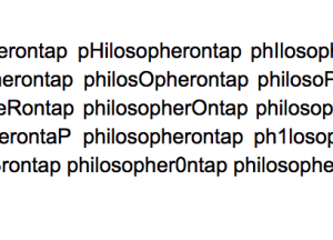philosopherontap the options