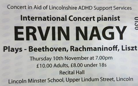 Ervin Nagy Concert