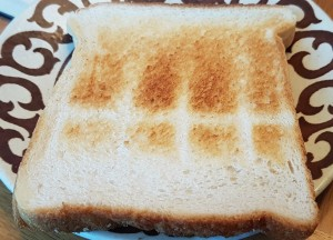 unwanted toast
