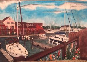 Port Solent Marina by Jen