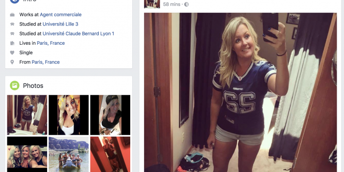 Unrequited Facebook Love
