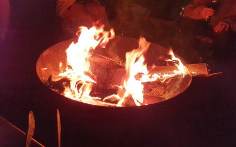kadai fire bowl
